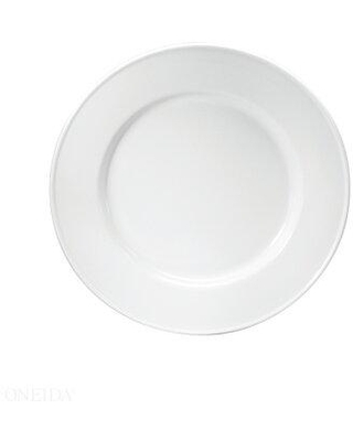 "Oneida Oneida Hospitality Classic 7.5"" Appetizer Plate, Ceramic/Porcelain China in White/Cream, Size 6"" to 8"" Medium 