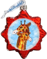 The Holiday Aisle Giraffe Glass Ornament THLY6731