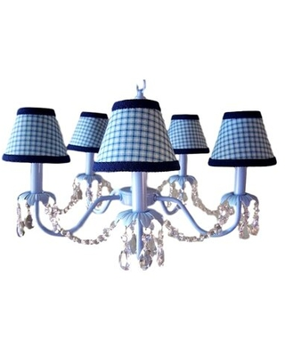 Camillah 5-Light Shaded Classic / Traditional Chandelier