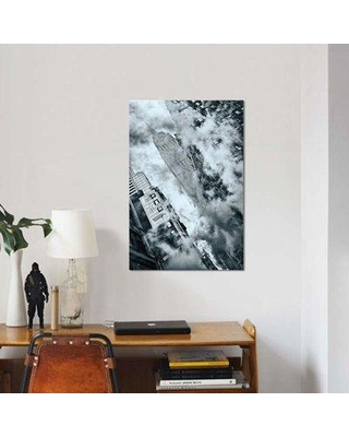 """East Urban Home 'Untitled' Graphic Art Print on Canvas EBHU7170 Size: 26"""" H x 18"""" W x 0.75"""" D"""