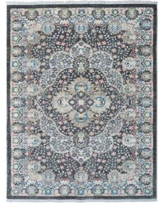 Bungalow Rose Beier Gray Area Rug W001221787 Rug Size: Rectangle 9' x 12'