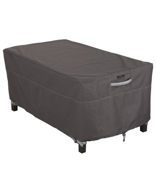 Classic Accessories Ravenna Water-Resistant 48 Inch Rectangular Patio Coffee Table Cover