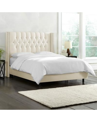 Willa Arlo Interiors Galleria Upholstered Panel Bed WRLO6723 Size: Full Color: Shantung Parchment