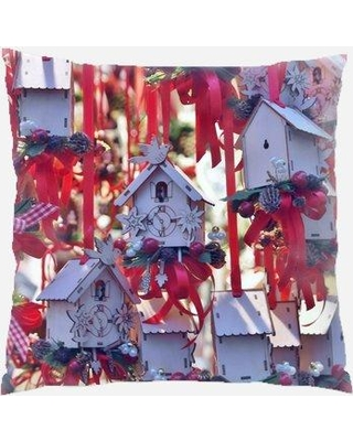 The Holiday Aisle Dumfries Christmas Decorations Indoor/Outdoor Canvas Throw Pillow W000603117