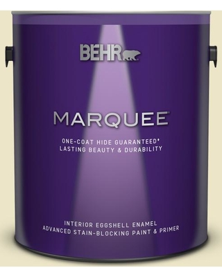 BEHR MARQUEE 1 gal. #M310-2 Proper Temperature Eggshell Enamel Interior Paint and Primer in One