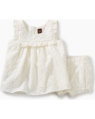 Tea Collection Eyelet Baby Outfit
