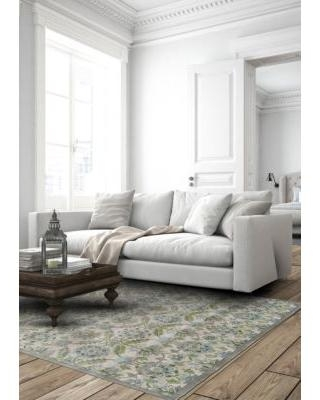 Weave & Wander Birch/Taupe Alessandria 4 ft 3 in x 6 ft 3 in Area Rug