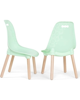 B. spaces by Battat B. spaces by Battat - Kid-Century Modern: Trendy  Toddler Chair Set of Two Kids Chairs - Kids Furniture Set for Toddlers and  Kids - ...