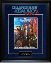 LuxeWest 'Guardians of the Galaxy' Framed Graphic Art Print Poster LWMV1-01372