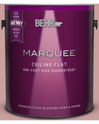 BEHR MARQUEE 1 gal. #MQ1-13 Lady Guinevere One-Coat Hide Ceiling Flat Interior Paint and Primer in One