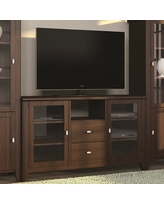 """Solid Wood TV Stand for TVs up to 65"""" Caravel Color: Brandywine"""