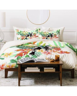 East Urban Home Duvet Cover Set UNHM7353 Size: King