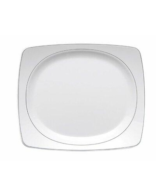 "Elite Global Solutions Viva 11"" Melamine Dinner Plate D3227L-W"
