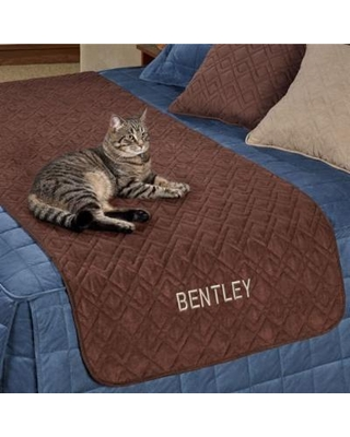 Mason Ultimate Bed Protector for Pets, Full / Queen, Chocolate