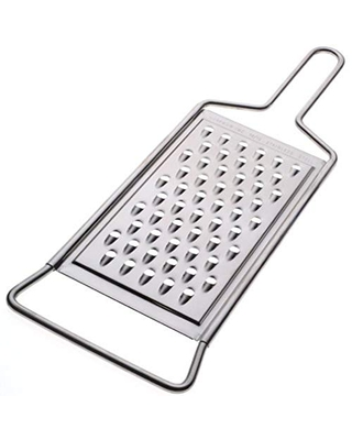 Norpro Stainless Steel Coarse Grater, 14 x 5 Inches, Silver