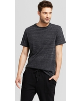 Men's Standard Fit Short Sleeve Crew T-Shirt - Goodfellow & Co Black M