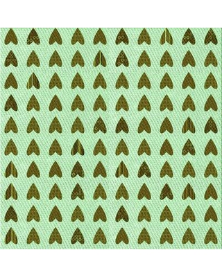 East Urban Home Wool Green Area Rug X113623050 Rug Size: Square 3'