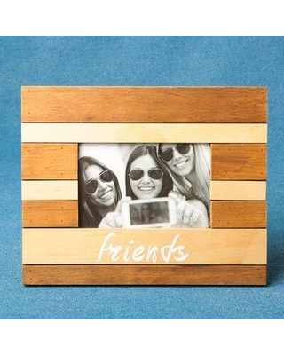 """Winston Porter Dalrymple Wood Picture Frame, Wood in Brown/Beige, Size 0.25"""" L x 10"""" W x 8.25"""" H 