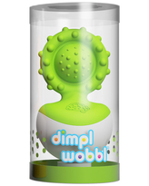 Dimpl Wobbl - Green - Baby Toys & Gifts for Ages 0 to 1 - Fat Brain Toys