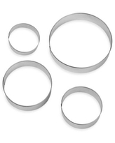 Wilton® 4-Piece Nesting Circle Cookie Cutters