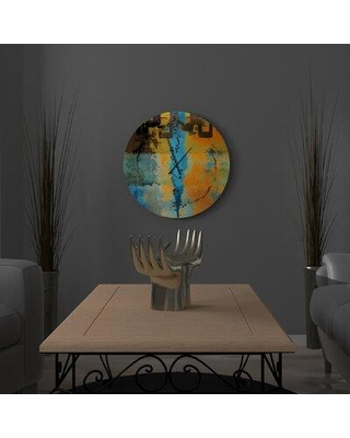 East Urban Home Tess Wall Clock W000587339 Size: Large