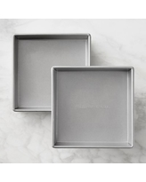 "Williams Sonoma Traditionaltouch Square Cake Pan, 8"", Set of 2"