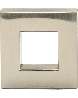 Richelieu Hardware 31/32 in. x 5/16 in. (25 mm x 8 mm) Brushed Nickel Contemporary Metal Cabinet Knob