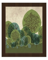Huge Deal On Viridian Standing Leaves Framed Graphic Art On Canvas Click Wall Art Size 26 5 H X 22 5 W X 1 D Frame Color Espresso
