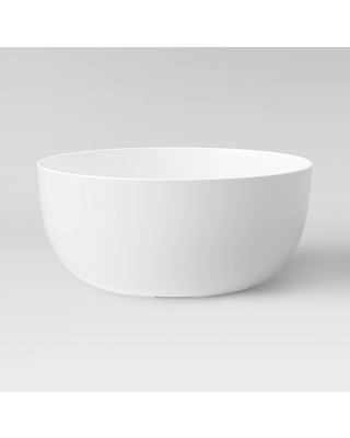 Special Prices On 147oz Plastic Serving Bowl Cream Made By Design