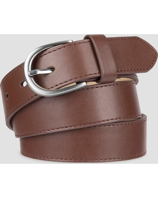 5c644e8d740c Find the Best Savings on Women's Faux Leather Belt - A New Day Brown S