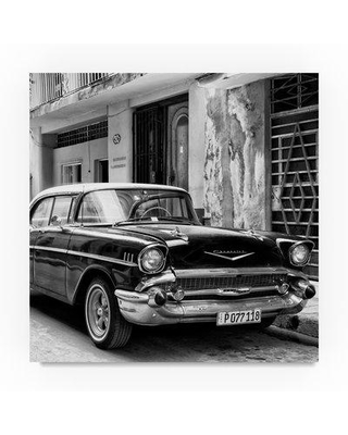 """Trademark Art 'Chevrolet Cuban' Photographic Print on Wrapped Canvas PH01011-C Size: 35"""" H x 35"""" W"""