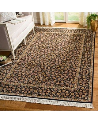 Safavieh Royal Kerman Hand-Knotted Wool Area Rug 683726150459 Size: 6' x 9'