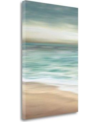 """Tangletown Fine Art 'Ocean Calm II' Graphic Art Print on Wrapped Canvas CA316461-1624c Size: 48"""" H x 32"""" W"""