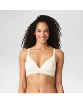 Warner's Simply Perfect Women's Supersoft Lace Wirefree Bra - Butterscotch 34B
