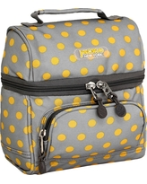J World Corey Lunch Bag with Front Pocket - Candy Buttons, Candy Button