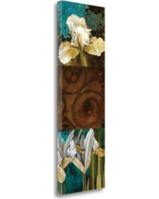 """Tangletown Fine Art 'From My Garden I' Graphic Art Print on Wrapped Canvas CA316016-1339c Size: 48"""" H x 16"""" W"""