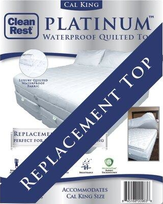CleanRest Platinum Top Polyester Mattress Pad 845168008013 Bed Size: California King