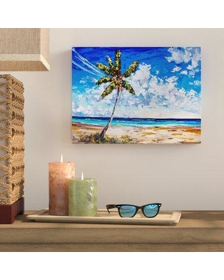 """Bay Isle Home 'Ocean Breeze' Painting Print on Wrapped Canvas BYIL3867 Size: 20"""" H x 30"""" W x 1.5"""" D"""