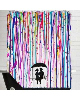 East Urban Home Days Gone By (HD Print) Shower Curtain EASU7752