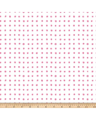 Michael Miller Minky Breakfast in Bed with Sprinkles On Top Fabric, White