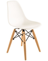 White & Natural Child's Chair