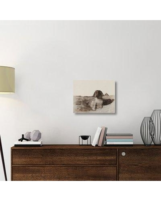"""East Urban Home 'The Sphinx c. 1853' Photographic Print on Wrapped Canvas ERNI9016 Size: 17.4"""" H x 22"""" W x 1.5"""" D"""