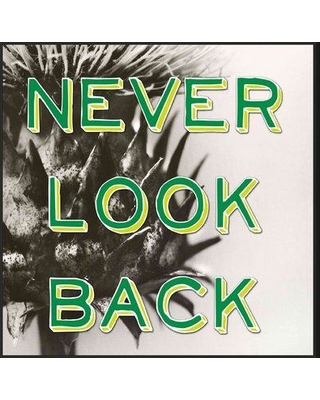 Ebern Designs 'Never Look Back' Framed Textual Art on Canvas W000335918