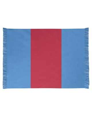 Tennessee Red Football Blue Area Rug East Urban Home Backing: Yes