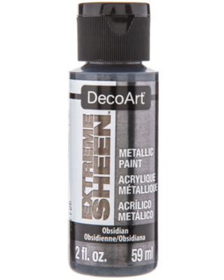 DecoArt Obsidian Extreme Sheen Metallic Paint from Hobby Lobby | People