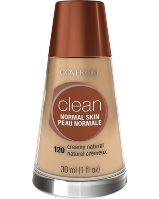 Covergirl Clean Foundation 120 Creamy Natural 1Fl Oz