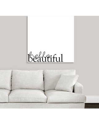 """Ebern Designs Giclee 'Love Quotes IV' Graphic Art Print W001608705 Format: Wrapped Canvas Size: 35"""" H x 35"""" W x 1.5"""" D"""