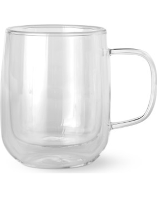 New Bargains On Double Wall Glass Coffee Mugs Set Of 4