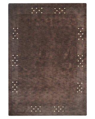 Bloomsbury Market Craybrough Hand-Woven Wool Brown Area Rug BLMT8553 Rug Size: Rectangle 5' x 8'