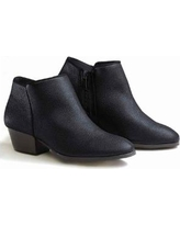 Women's Salon Studio® Ankle Boots by Haband, Black, Size 8.5